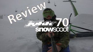 Review JYKK 70 SnowScoot