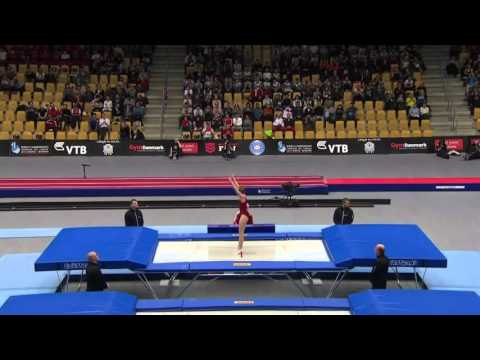2015 Female Trampoline World Championships Finals