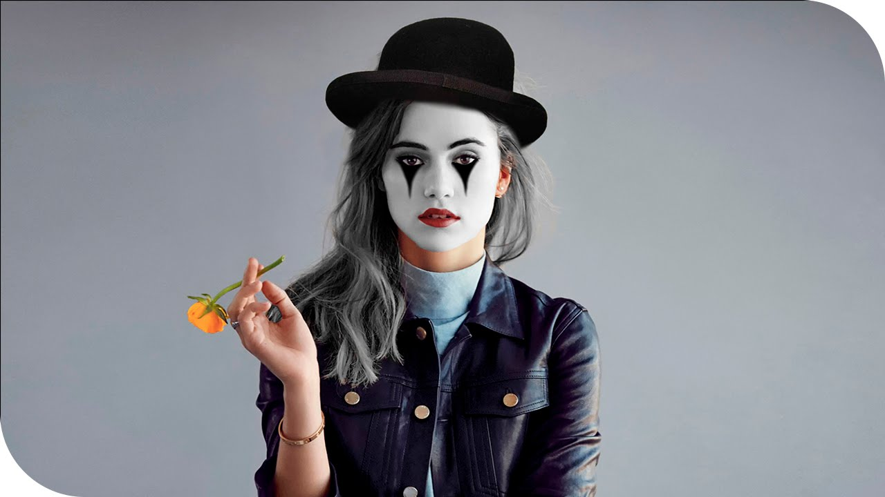 efecto maquillaje de mimo como maquillarse como mimo con