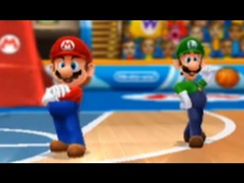 Mario Sports Mix (Wii U) - Basketball - Mushroom Cup (Hard)