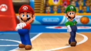 Mario Sports Mix (Wii U) - Basketball - Mushroom Cup (Hard)