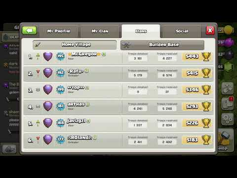 In clash  of clans  there  are two leaders in a clan