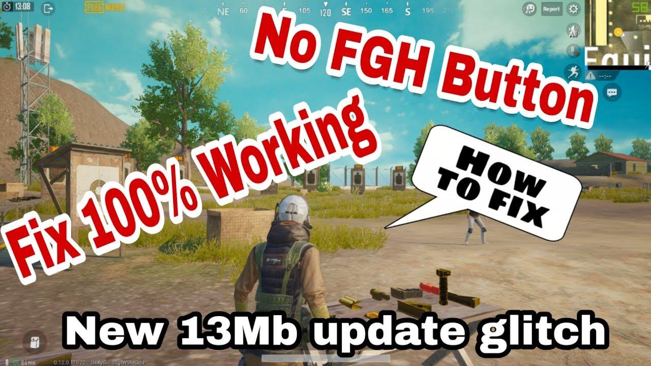 PUBG emulator New 13MB Update PickUP(F,G,H) Glitch Fix 100% Working