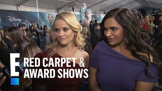Reese Witherspoon & Mindy Kaling Talk Diverse Film Crew | E! Live from the Red Carpet