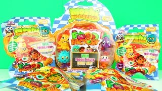 Moshi Monsters Food Factory Surprise Blind Bags Opening & 5 Pack Unboxing