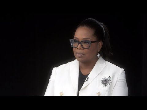 Oprah remembers her first time on 60 Minutes