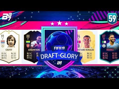 JOHAN CRUYFF 188 DRAFT?! | FIFA 19 DRAFT TO GLORY #59