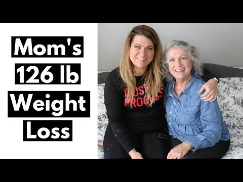 My Mom's 126 Pound Weight Loss Journey │How She Took Charge Of Her Health