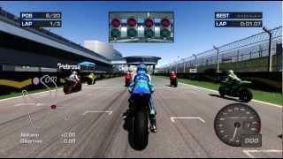 MotoGP '06 Xbox 360 720P gameplay