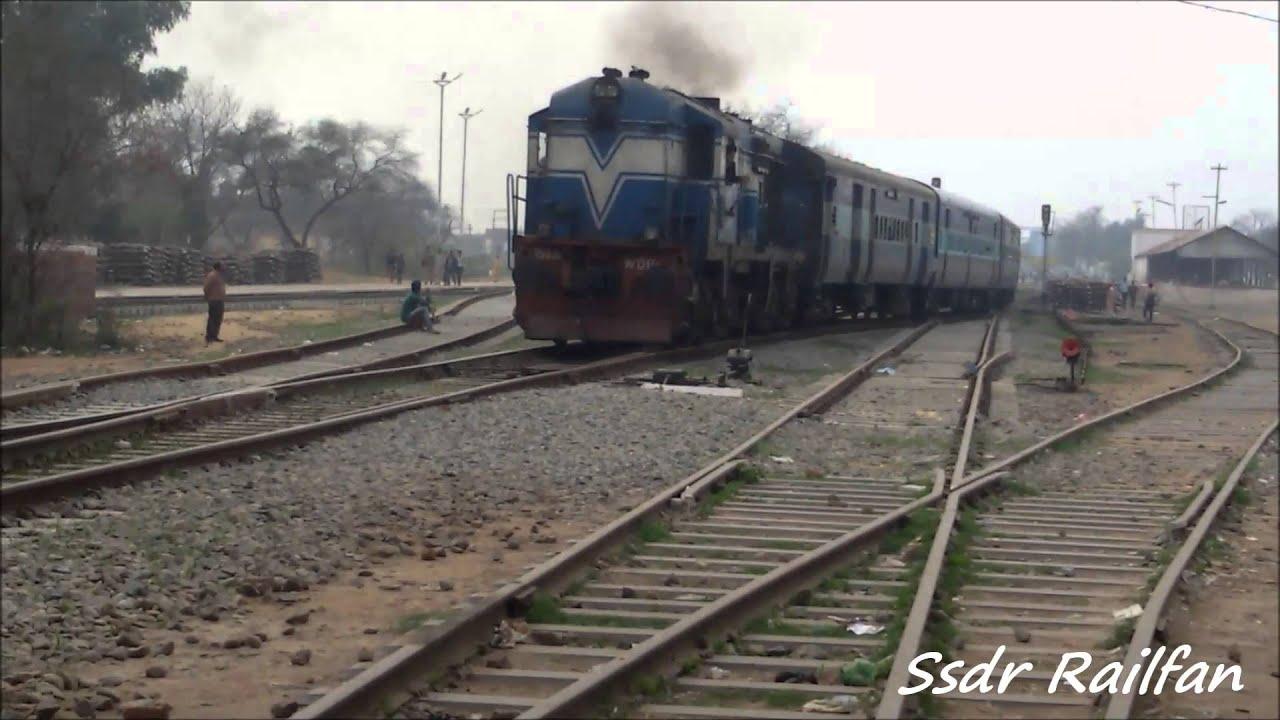 HD 1080P Indian Railway INTERCITY EXPRESS TKD WDP1