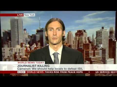 BBC World News: Matthew VanDyke interview Sept 3rd 2014