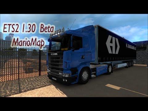 ETS2 1.30 Open Beta | Mario Map v12.5 | Download & Install