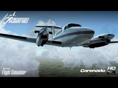 FSX ᴴᴰ | Carenado King Air 200 |...