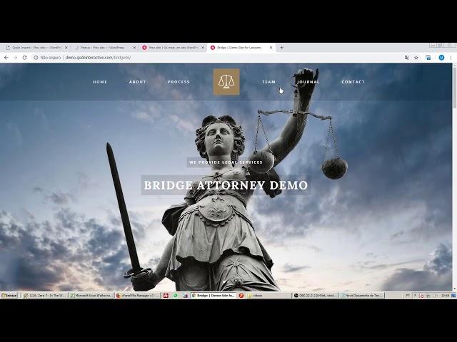 Criando um site completo em Wordpress(Cabeçalho, logotipo, menus, páginas, slide, rodapé)