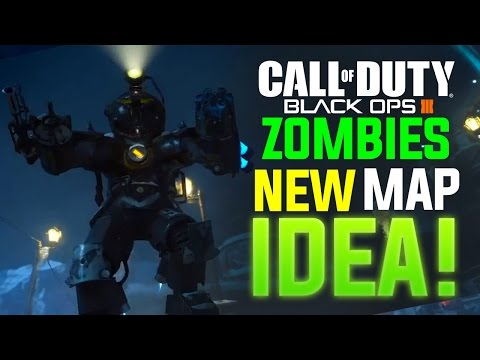 BLACK OPS 3 ZOMBIES: MY ZOMBIES LEVEL IDEA! (Train of The Dead)