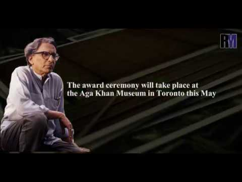 Do you know the first Indian who just won the Pritzker Prize?