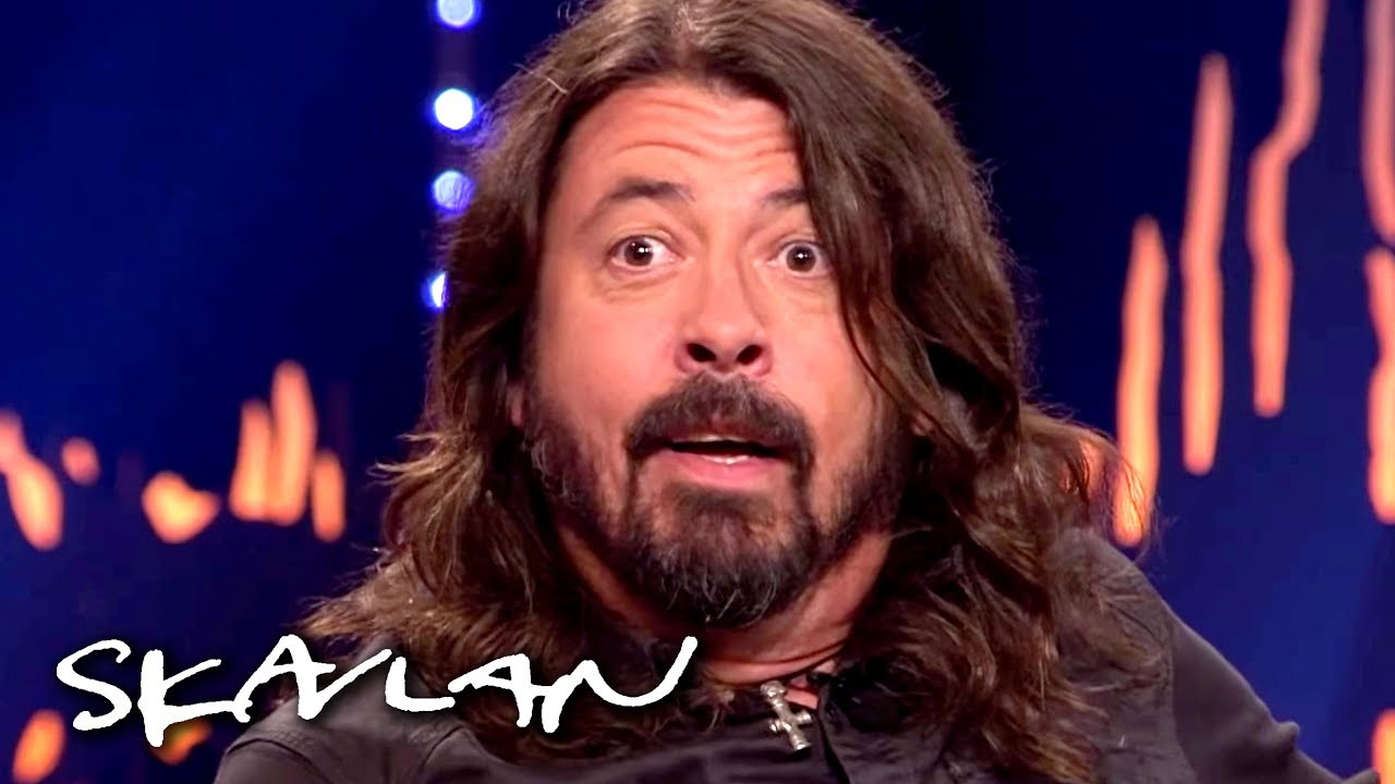 Foo Fighters Dave Grohl Gets A Surprise Reunion With The Doctor