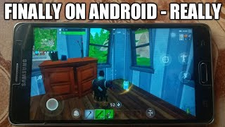 Fortnite For Android - All Details | black screen | verification
