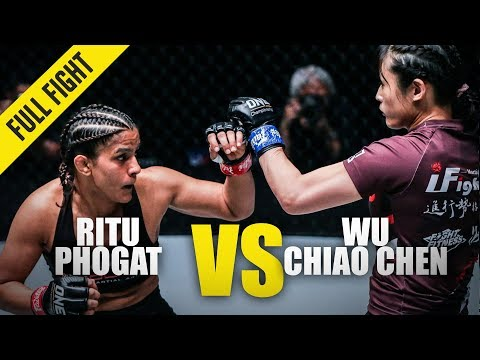 Ritu Phogat vs. Wu Chiao Chen | ONE Full Fight | February 2020