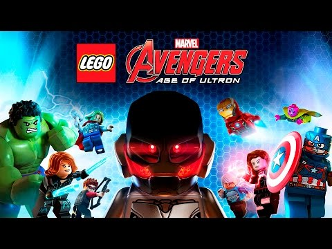 LEGO Marvel Vengadores La Era de Ultron - Pelicula Completa Español | The Avengers - Game Movie 2016