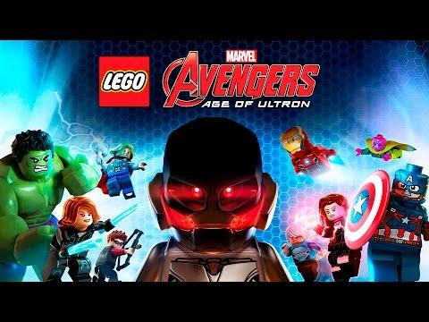 LEGO Marvel Vengadores La Era de Ultron – Pelicula Completa Español   The Avengers – Game Movie 2016