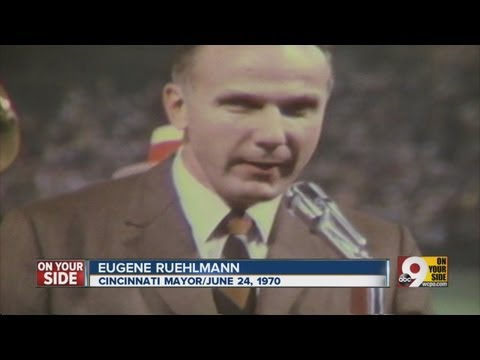 Ruehlmann gave sendoff to Crosley Field