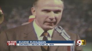 Ruehlmann gave sendoff to Crosley Field
