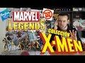 Colección Marvel Legends X-Men por Geezuz González