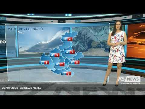 20/01/2020 | A3 NEWS METEOA3 NEWS Venezia ...