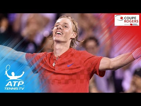 Denis Shapovalov SHOCKS Rafa Nadal | Coupe Rogers Montreal 2017