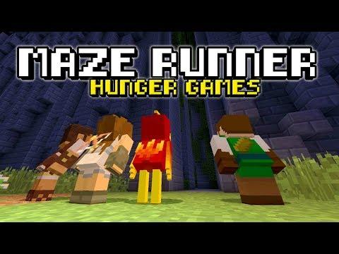 MAZE RUNNER - Minecraft Xbox : Hunger Games