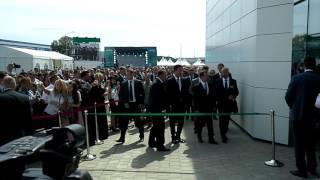 Открытие завода Wilo, Ногинск - перерезание ленточки(28 июня 2016 г. в Ногинске состоялось открытие завода Wilo Rus («ВИЛО РУС») по производству насосного оборудования..., 2016-06-28T11:31:19.000Z)