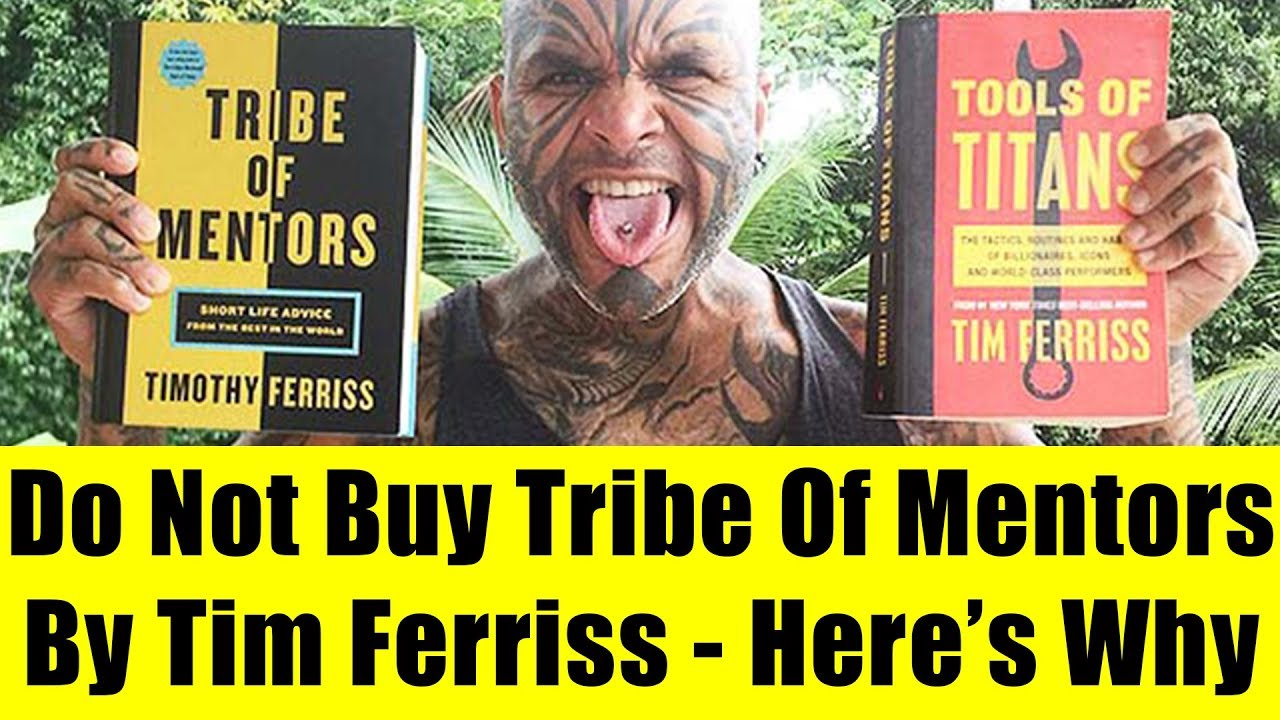 tribe of mentors  Why You Should Not Buy Tribe Of Mentors By Timothy Ferriss - YouTube