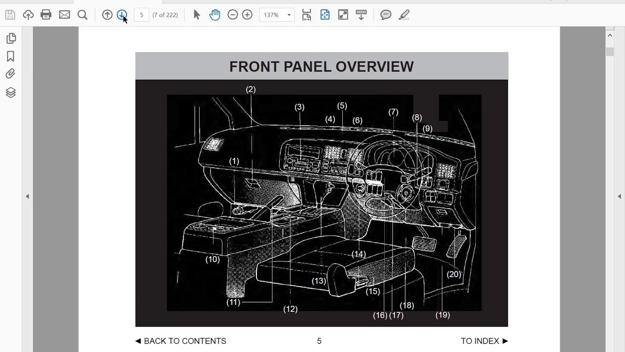 Mazda Bongo Repair Manual Jvc S79bt Car Stereo Wiring Diagram Free Download Diagrams Array Friendee Owners In English Youtube Rh Com