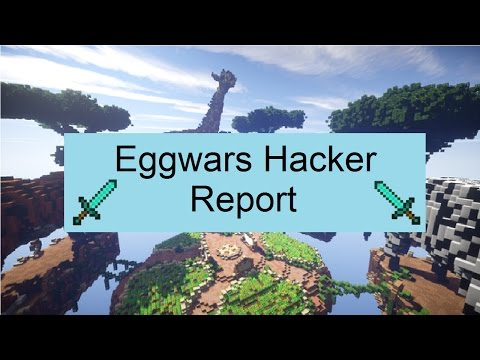 Minecraft Eggwars Hacker: (Flight, Anti Knockback, Click aura, and more!) (LaceyWesley)