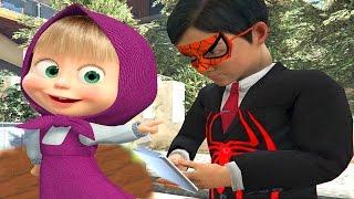 Maşa ve Koca Ayı Örümcek Çocuk Sonic Boom Portalında