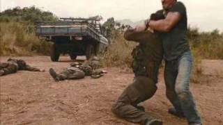Expendables fight scene