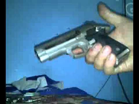 Cargando pistola con una mano youtube - Pistola para lacar ...