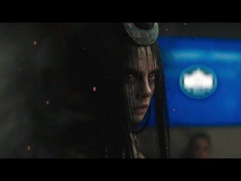 June Moone shows Enchantress | Suicide Squad
