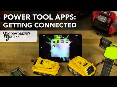Connecting Power Tools with Free Downloadable Apps
