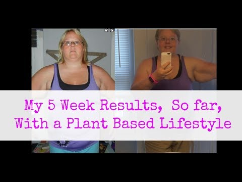 My 5 Week Results Eating A Plant Based, Eat To Live Diet As A Type 2 Diabetic.