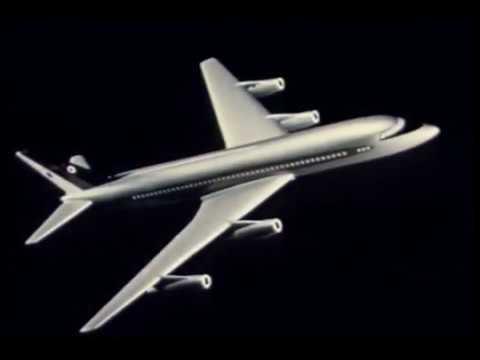 VT 855 Convair 240, 880, General Electric CJ-805 Jet Engine Footage