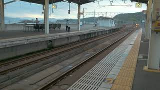 【JR西日本】特急しおかぜ号入線 @児島駅(JR四国8600系)