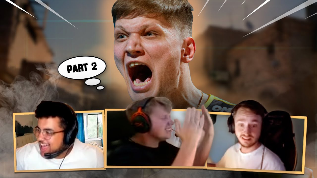 Pro players reaction to s1mple plays (Part 2)