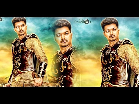For the first time in Tamil Cinema Sun Tv bags Puli rights with record price? Vijay