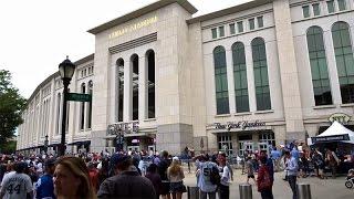 Yankee Stadium 地下鉄からGATE6まで @ ニューヨーク