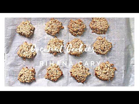 Magnum Coconut Cookies - Rihana Cary