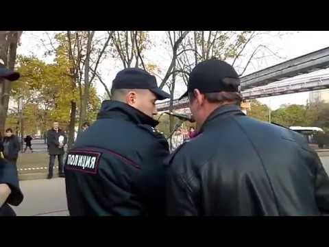 Реакция полиции на песню Цоя. Москва