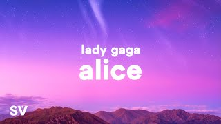 Baixar Lady Gaga - Alice (Lyrics)