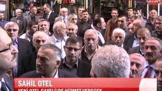 Çayeli Sahil Otel Açılış Haber Tanitim Videosu